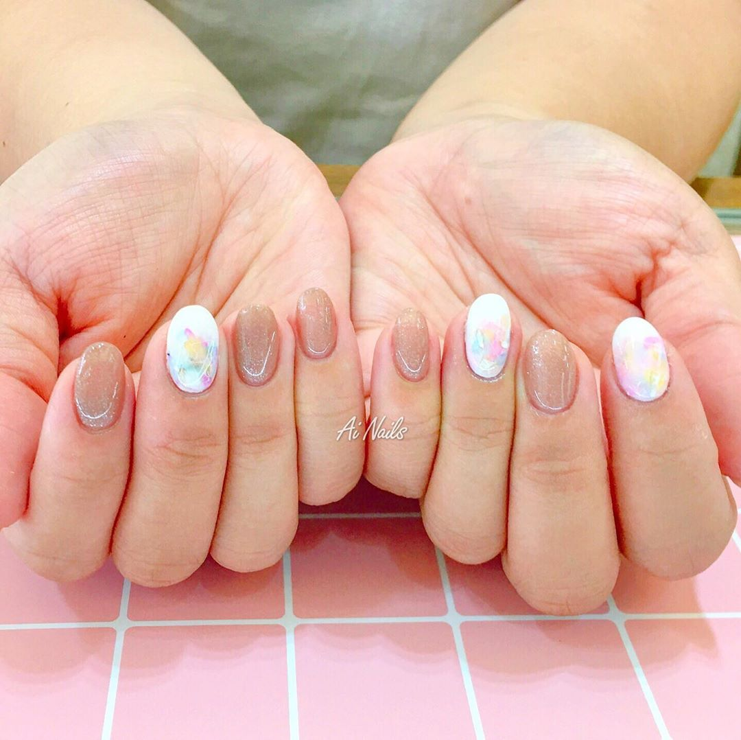 Photo of nails art al wahda mall