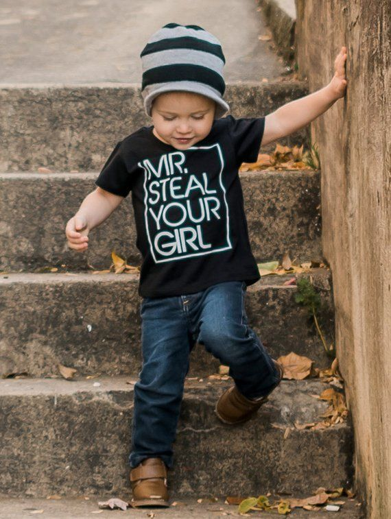 Latest Funny Shirts Kids Shirt, Toddler T Shirt, Boys Shirt, Mr. Steal Your Girl, Boys Tee, Funny Shirt, Trendy Tee, Infant Shirt, Infant Tee Kids Shirt, Toddler T Shirt, Boys Shirt, Mr. Steal Your Girl, Boys Tee, Funny Shirt, Trendy Tee, Inf Boys Toddler Fashion | Toddler Jackets | Toddler Clothes | Toddler Clothing | Cute Toddler Fashion | Adorable Toddler Fashion | Stylish Toddler Fashion | Toddler Fashion Icon | Inspiration #boysfashion #toddler #boys #toddlerfashion 5