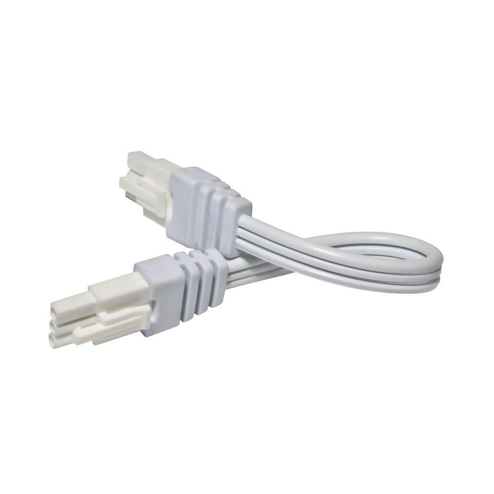 Irradiant 6 in. White Linking Cable for LED Under Cabinet Light