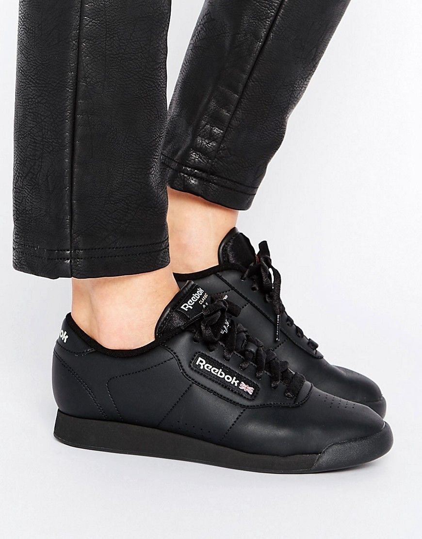 Buy it now. Reebok Princess Spirit Black Low Top Trainers - Black. Trainers  by