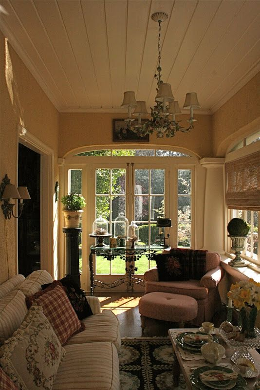 Home Additions Sunroom Decorating Four Seasons Room: Sunroom Designs, House With Porch, Sunroom Decorating