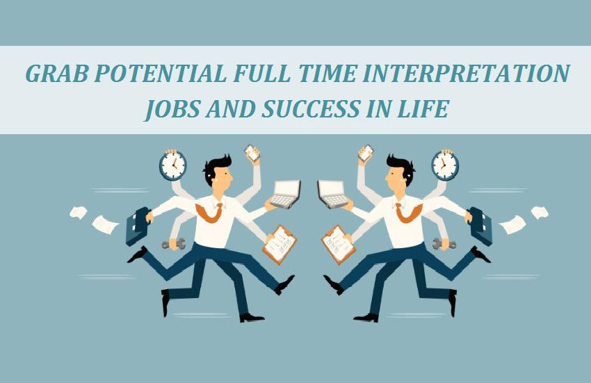 Full Time Interpretation Jobs in India Delhi Noida Mumbai