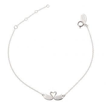 Silver Kissing Swans Bracelet | Fashion Bracelets & Bangles, Silver Bracelets & Gold Bangles | Style | Jewellery Online | Buy Women's Fashion & Designer Jewellery UK | Oliver Bonas