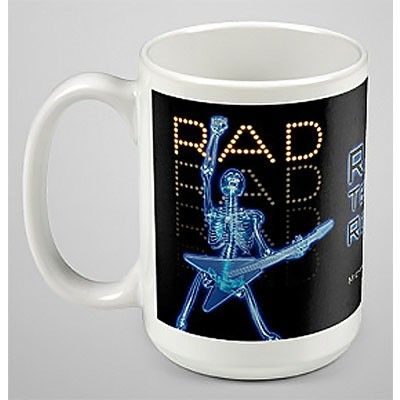 A truly original gift for your favorite rad tech or staff, this microwave and dishwasher-safe ceramic mug features a 15-ounce capacity and our original rockin' rad tech artwork.