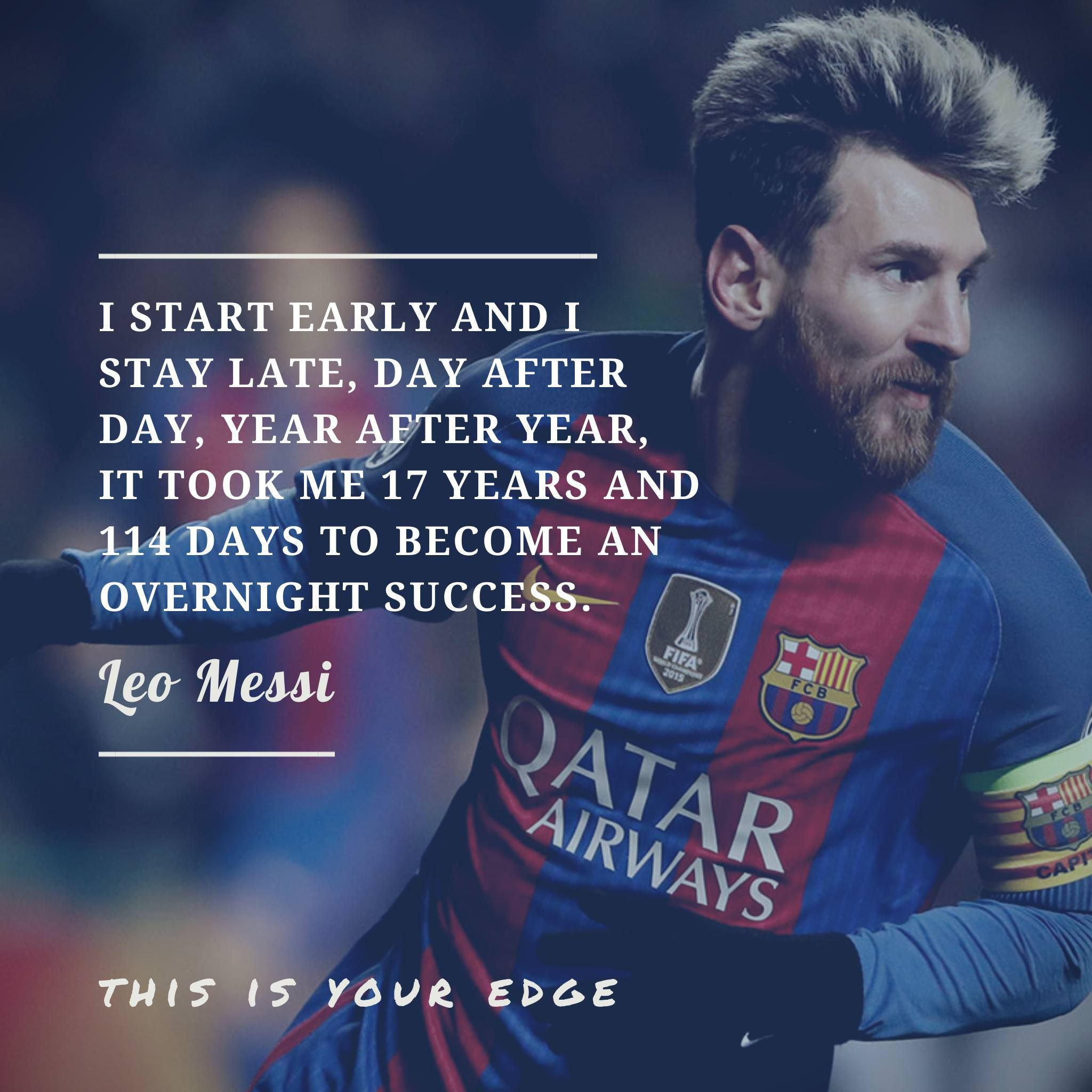 Favorite quote from Leo Messi | Messi quotes, Lionel messi ...