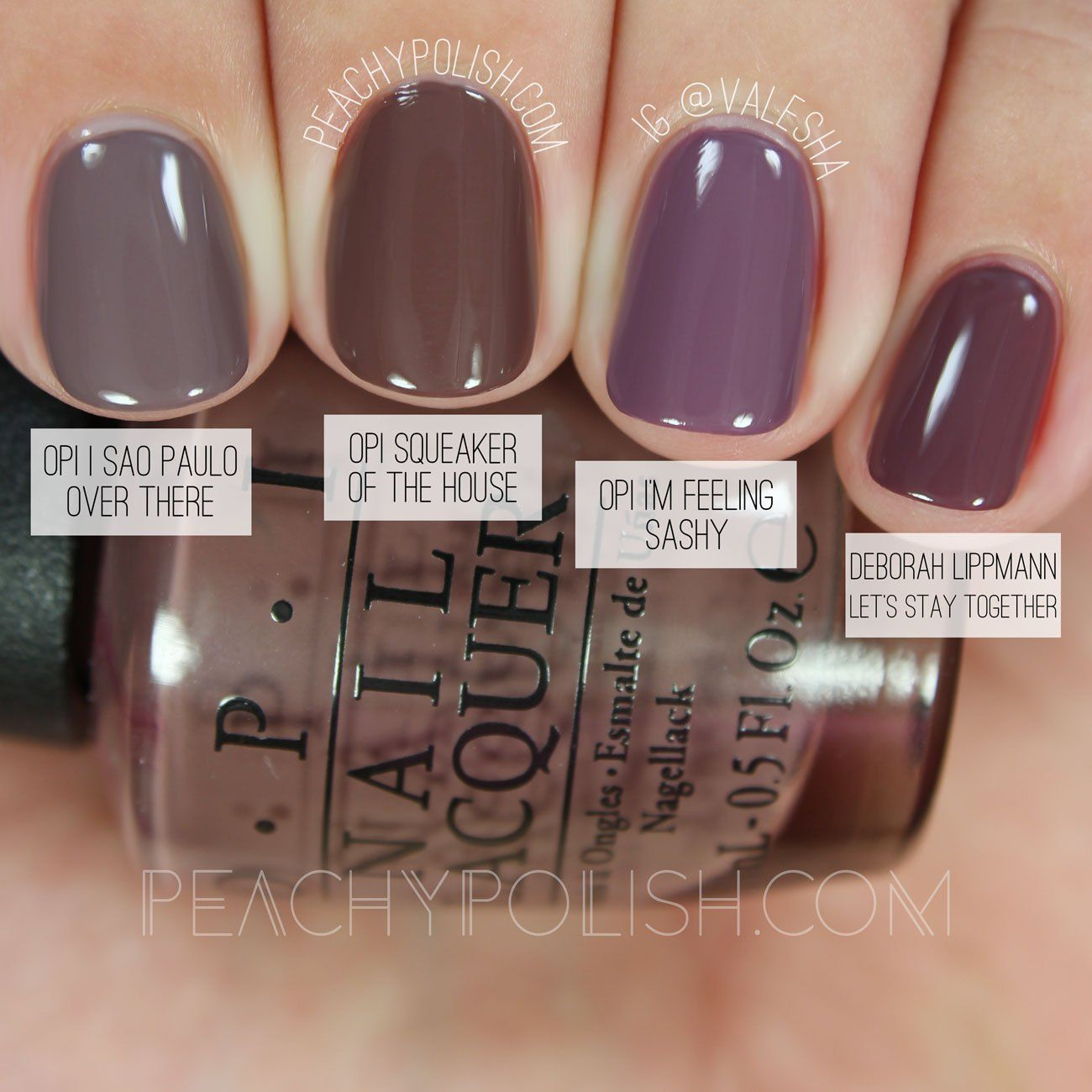 Opi Comparisons Washington D C Collection With Images Nail