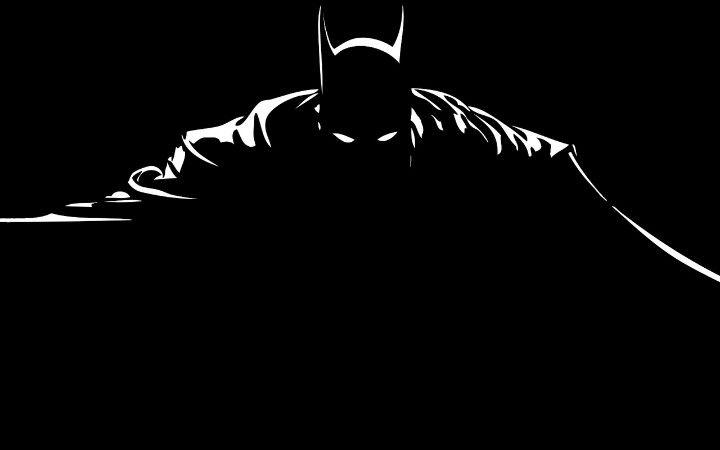 Batman Silhouette Siluet Gambar Stiker