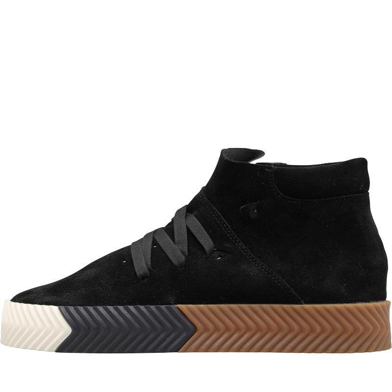 adidas Originals x Alexander Wang Skate Mid Shoes Core Black Core Black Core  Black c6afa7121
