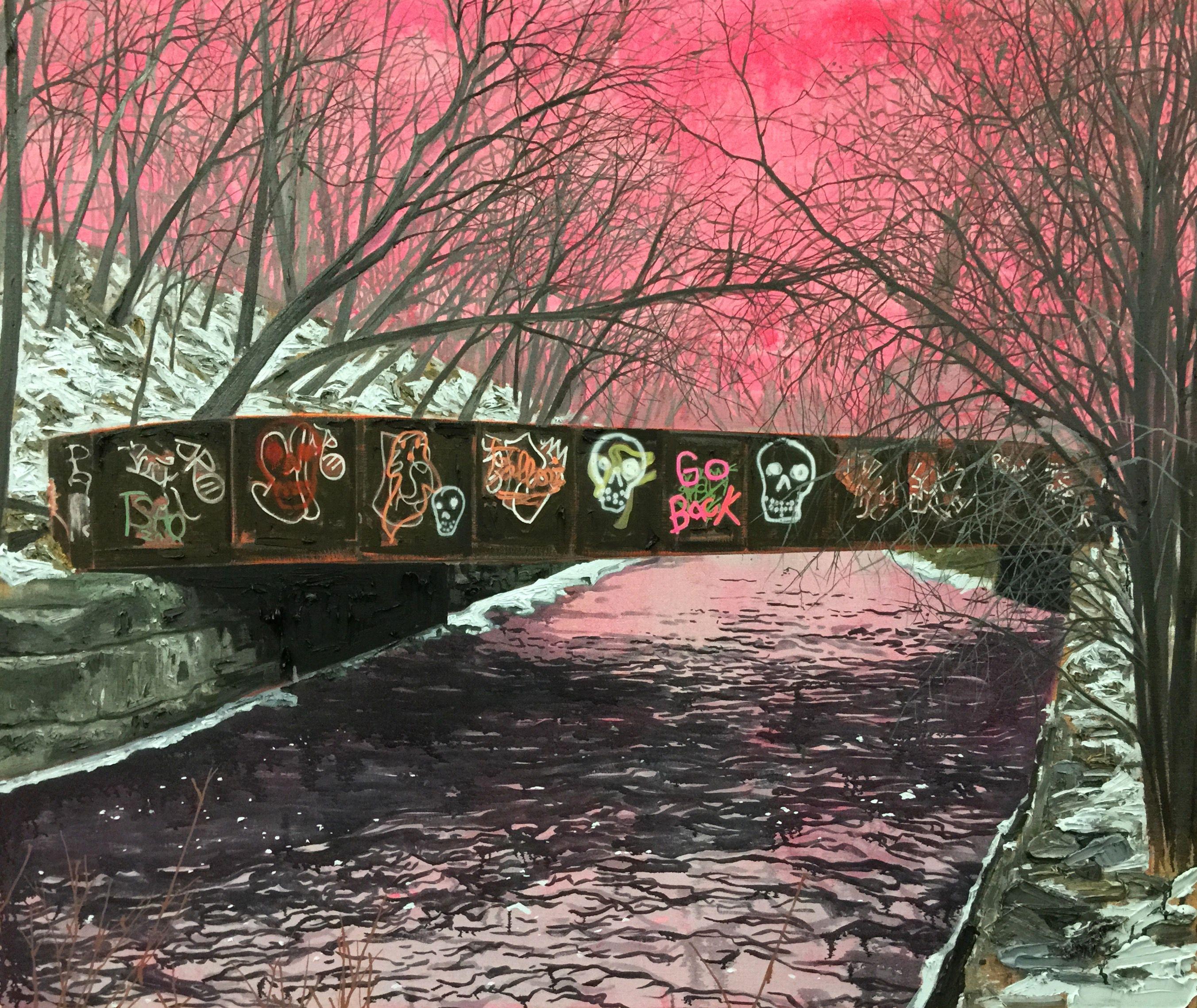 Graffiti art for sale canada - Kim Dorland Paintings Canadian Artstreet Art Graffitiamerican