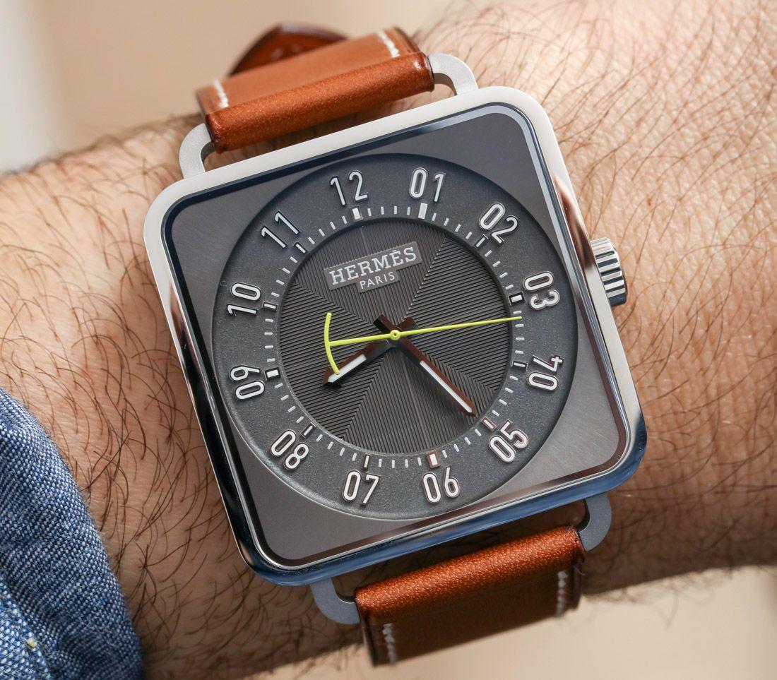 8459f7e45dc00 Hermès Carré H Watch Montre Noir, Horlogerie, Montres Homme, Bijoux, Mode,