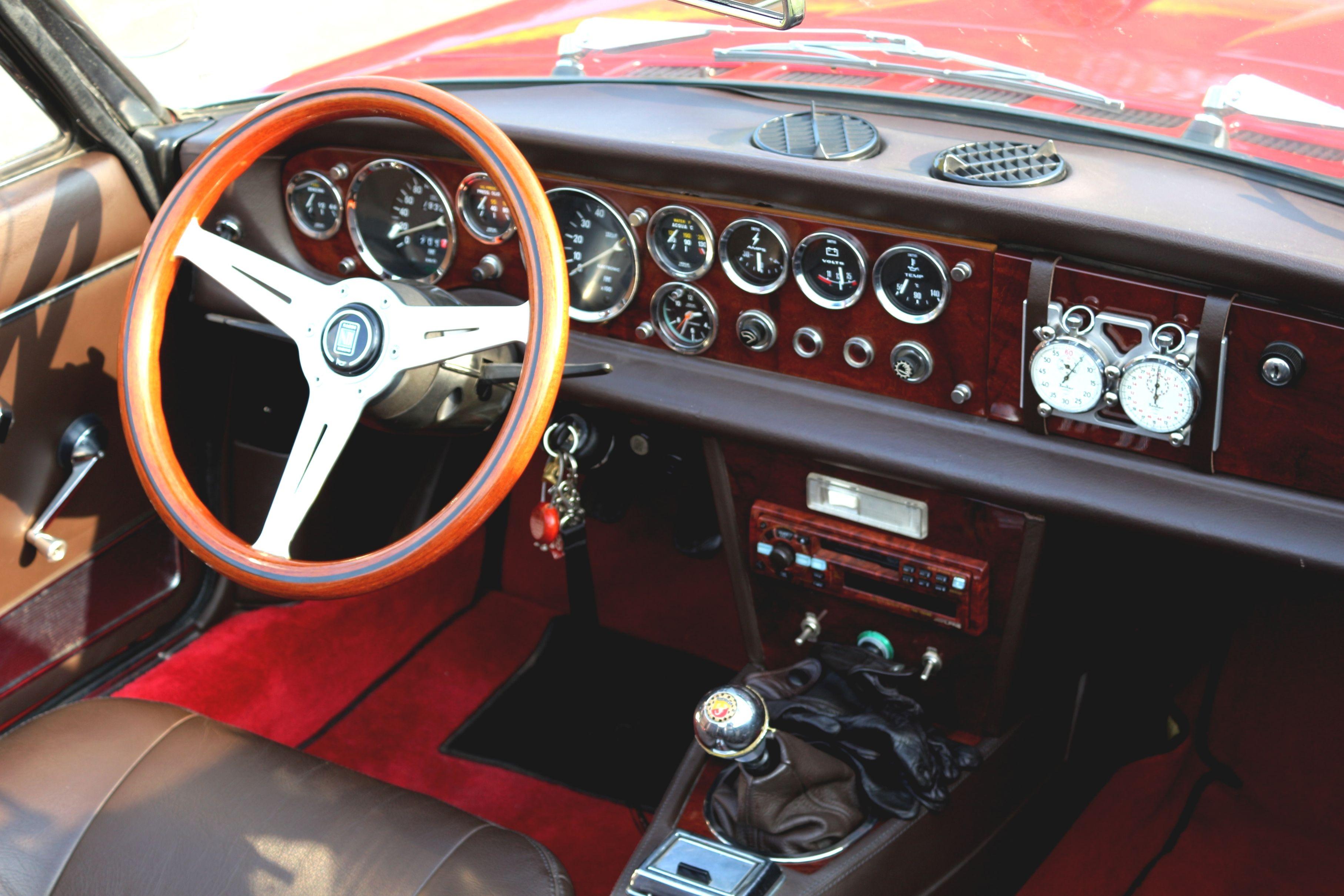 124er Cockpit With Images Fiat Spider