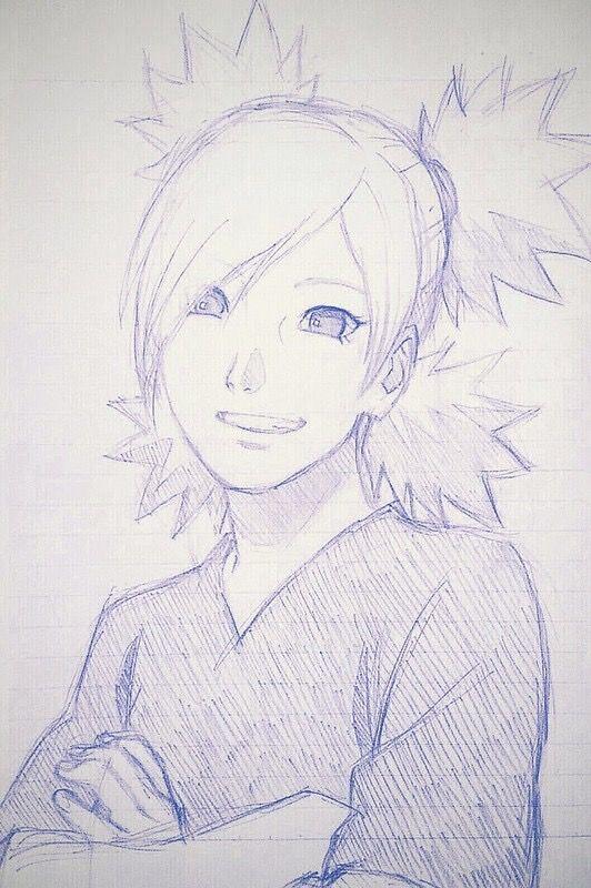 Temari Desenhos Naruto Desenho Desenho A Lapis