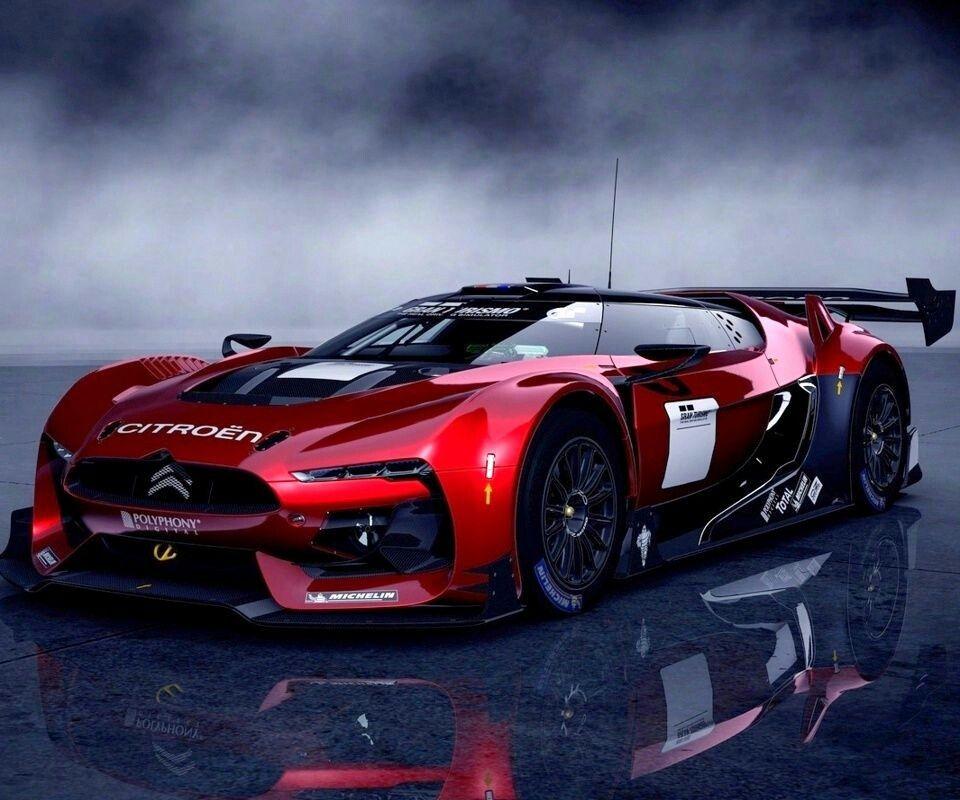 Citroen GT Race car Sports car wallpaper