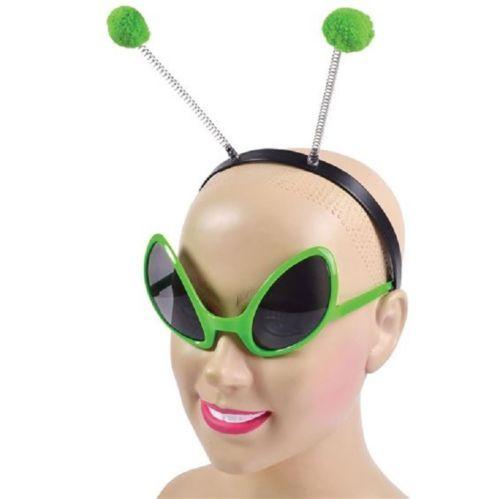 Alien Eyes On A Headband Fancy Dress Halloween Accessory Costume