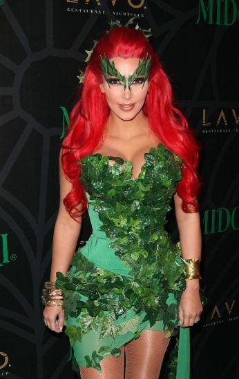 I Need An Awesome Poison Ivy Costume For Comic Con Yeah I Am A Nerd Celebrity Halloween Costumes Kardashian Halloween Costume Diy Halloween Costumes Easy