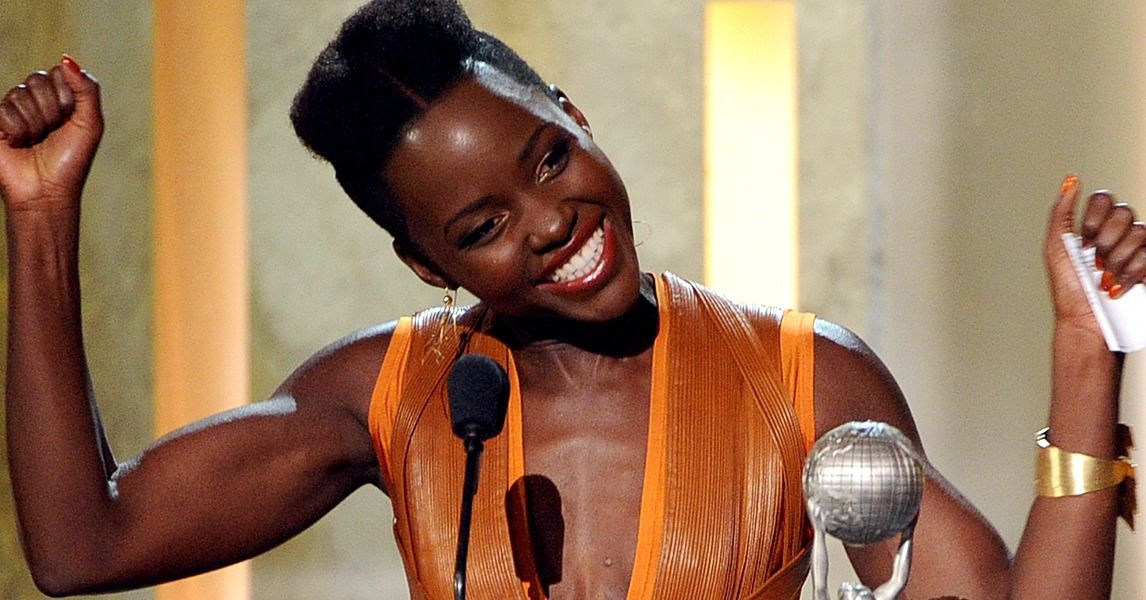 It Takes a Lot of Strength to Carry 29 Awards! The Lupita Nyong'o Arm Workout