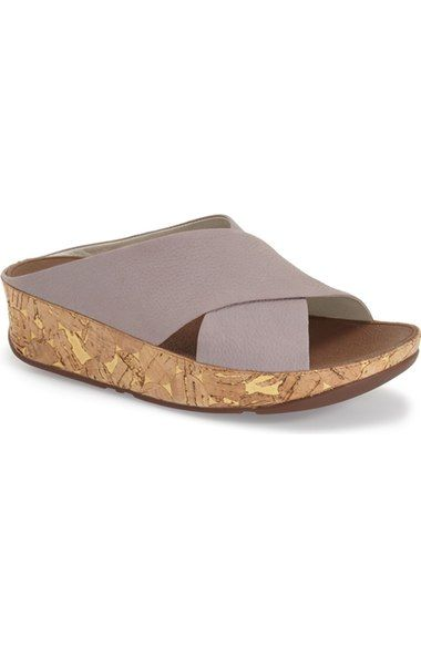 51571f16df820 FitFlop  Kys  Sandal (Women) available at  Nordstrom Weiches Leder