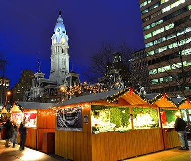 Christmas Village Love Park.America S Best Christmas Markets Best Holiday Travel