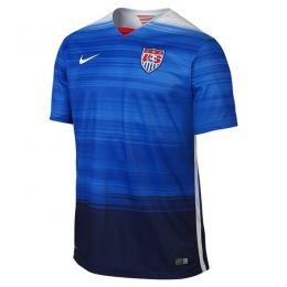 2015 USA Away Blue Soccer Jersey Shirt