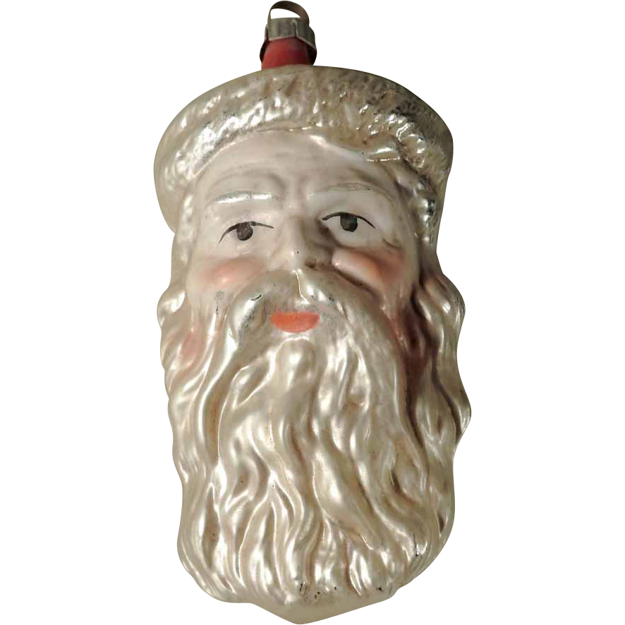 Charming Old German Christmas Ornament Santa   German ...