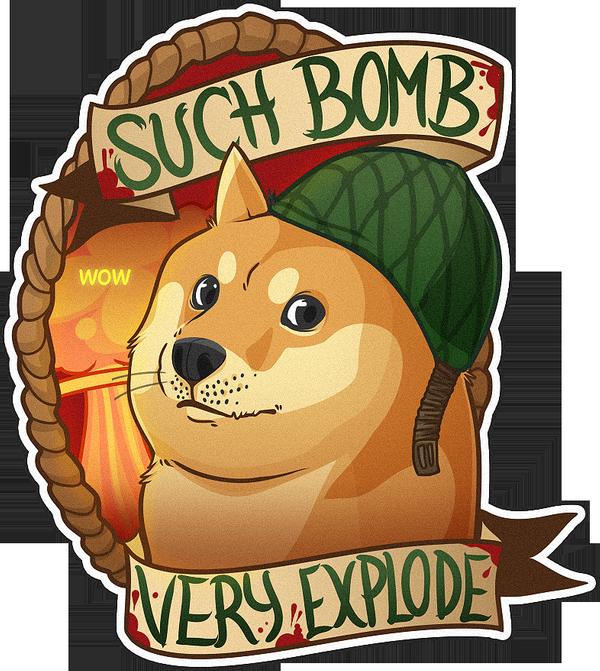 Cs Go Sticker Doge By Zombie On Deviantart Go Wallpaper Sticker Bomb Doge
