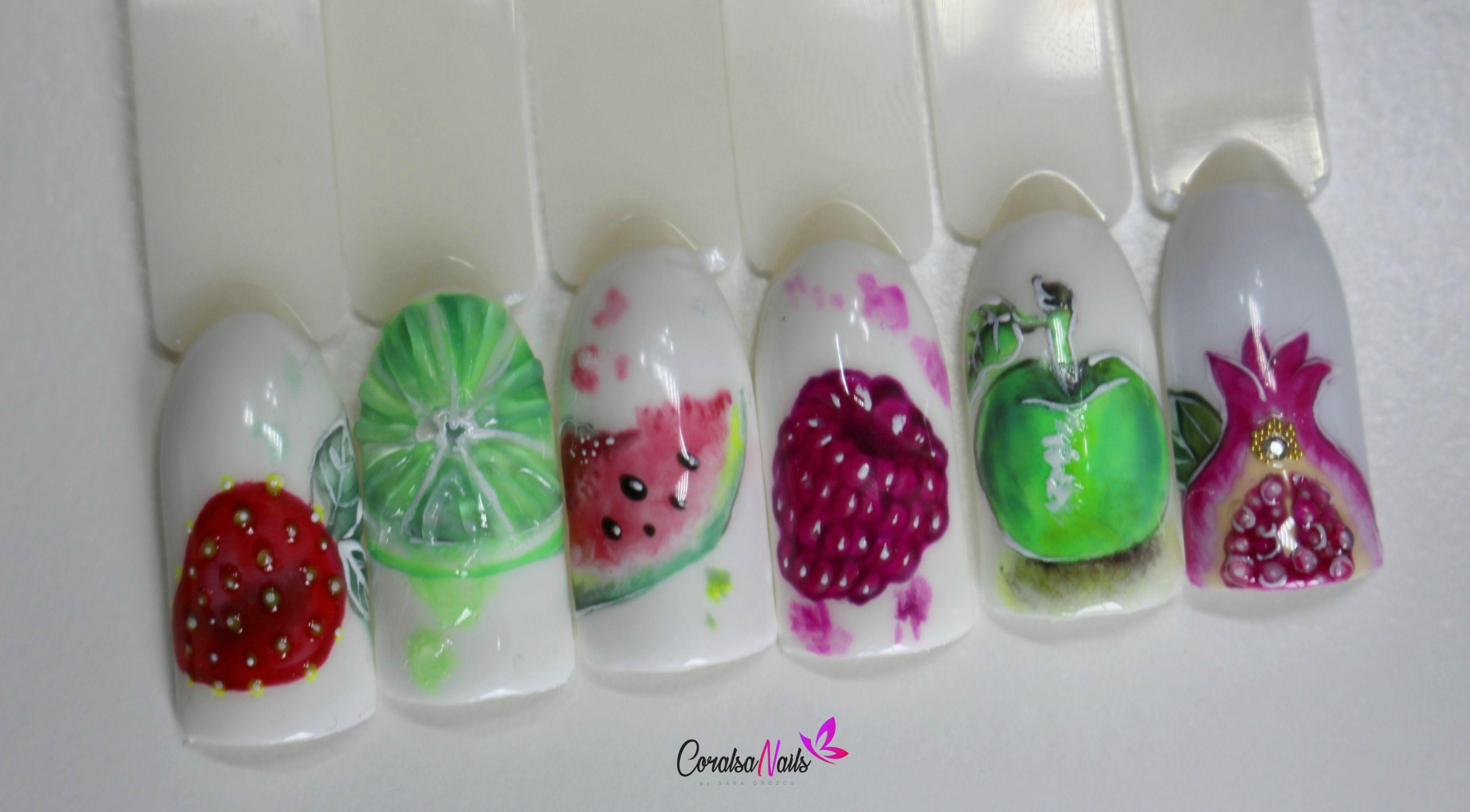 Uñas Acrílicas Ovaladas con Efecto Azúcar | Tutoriales de uñas ...