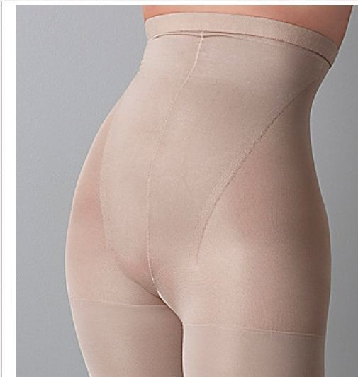 a2b1fcb5d5 SPANX Shapewear In-Power Higher Power HighWaisted Mid -Thigh Shaper NUDE SZ  C  SPANX  pantyshaper