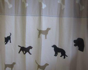 High Quality Lab Shower Curtain. Labrador ...