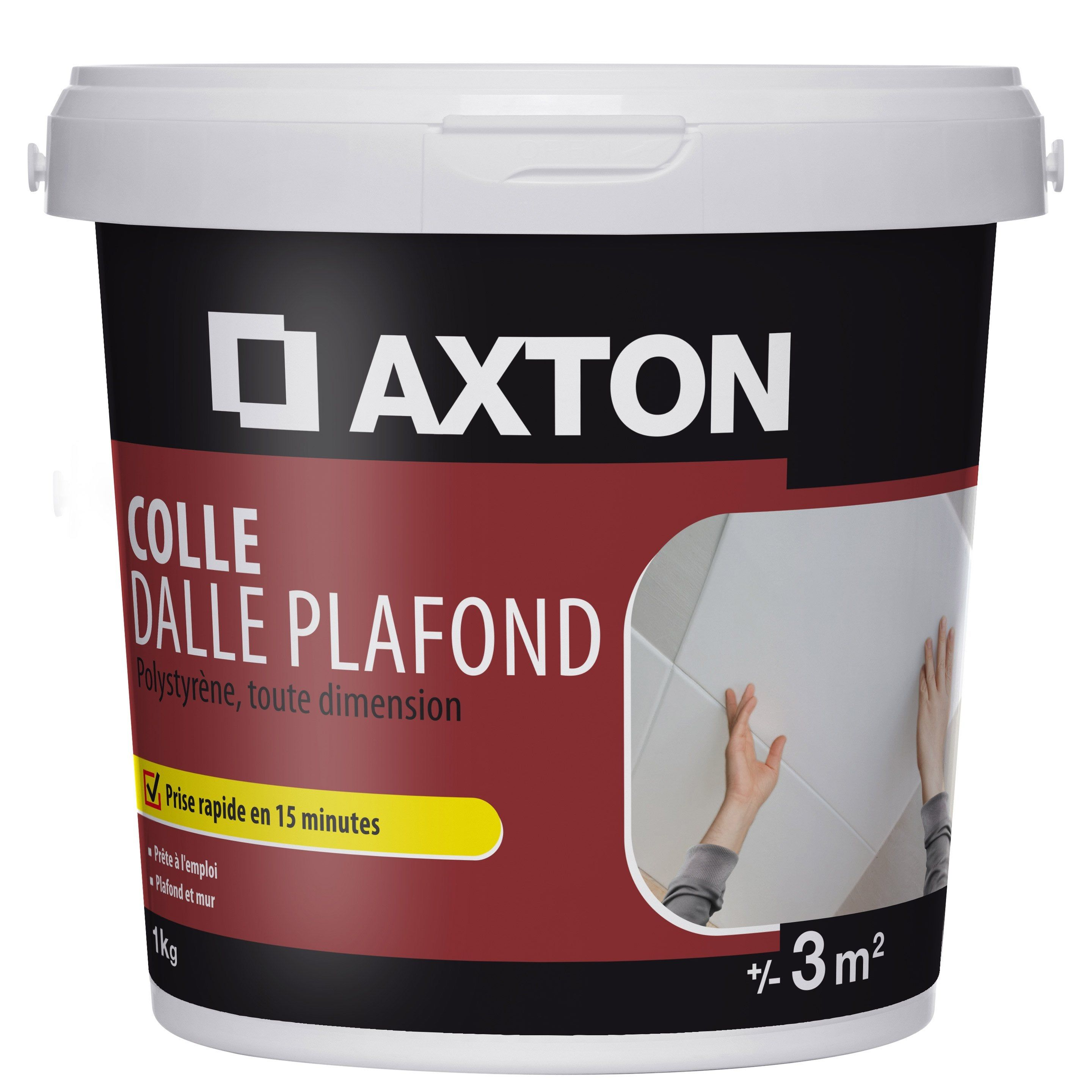Colle Polystyrène Dalle Plafond Axton 1 Kg Products En