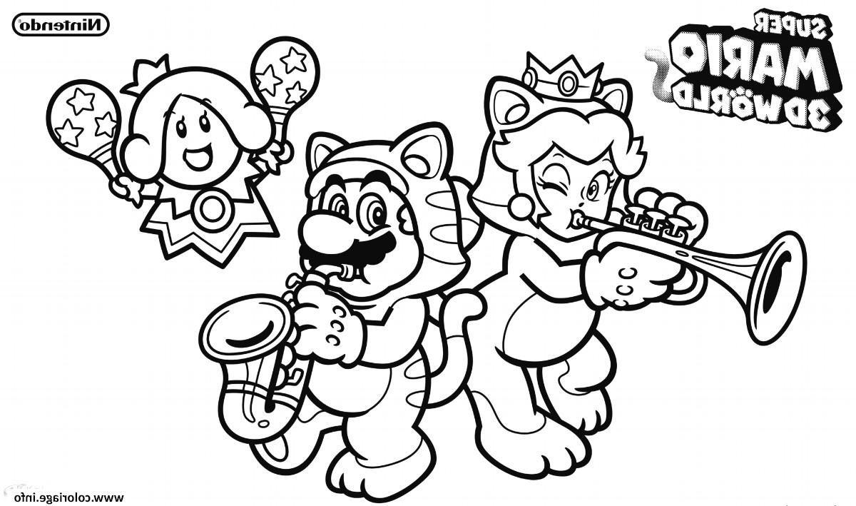 super mario 3d world coloriage #dessinmario | Mario ...