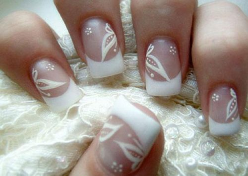 wedding nail designs for short nails