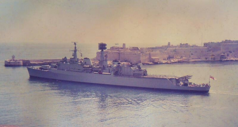 HMS Glamorgan what a ship!