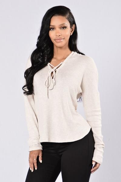 Lonely Hearts Club Sweater - Beige