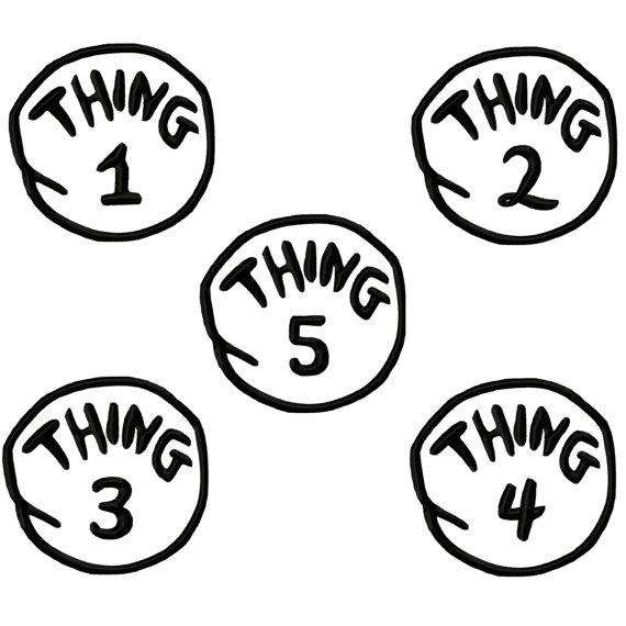 thing 1 2 3 4 5 applique machine embroidery by digitizingdolls   12 00