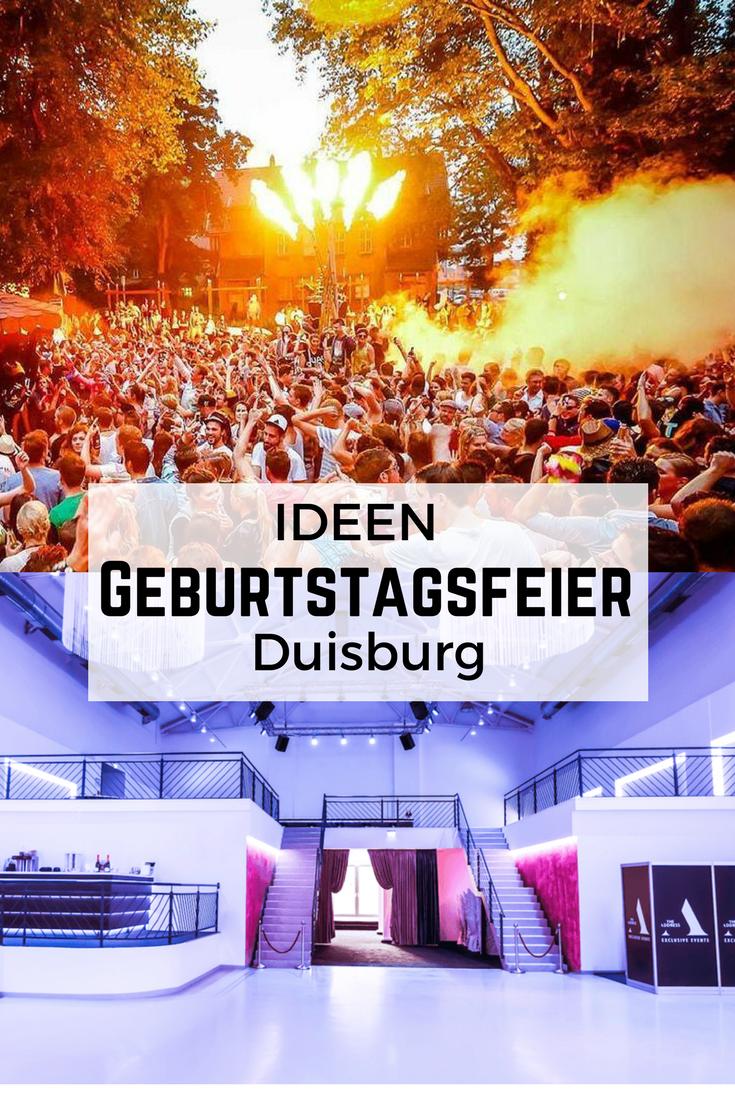 Geburtstagsparty Duisburg