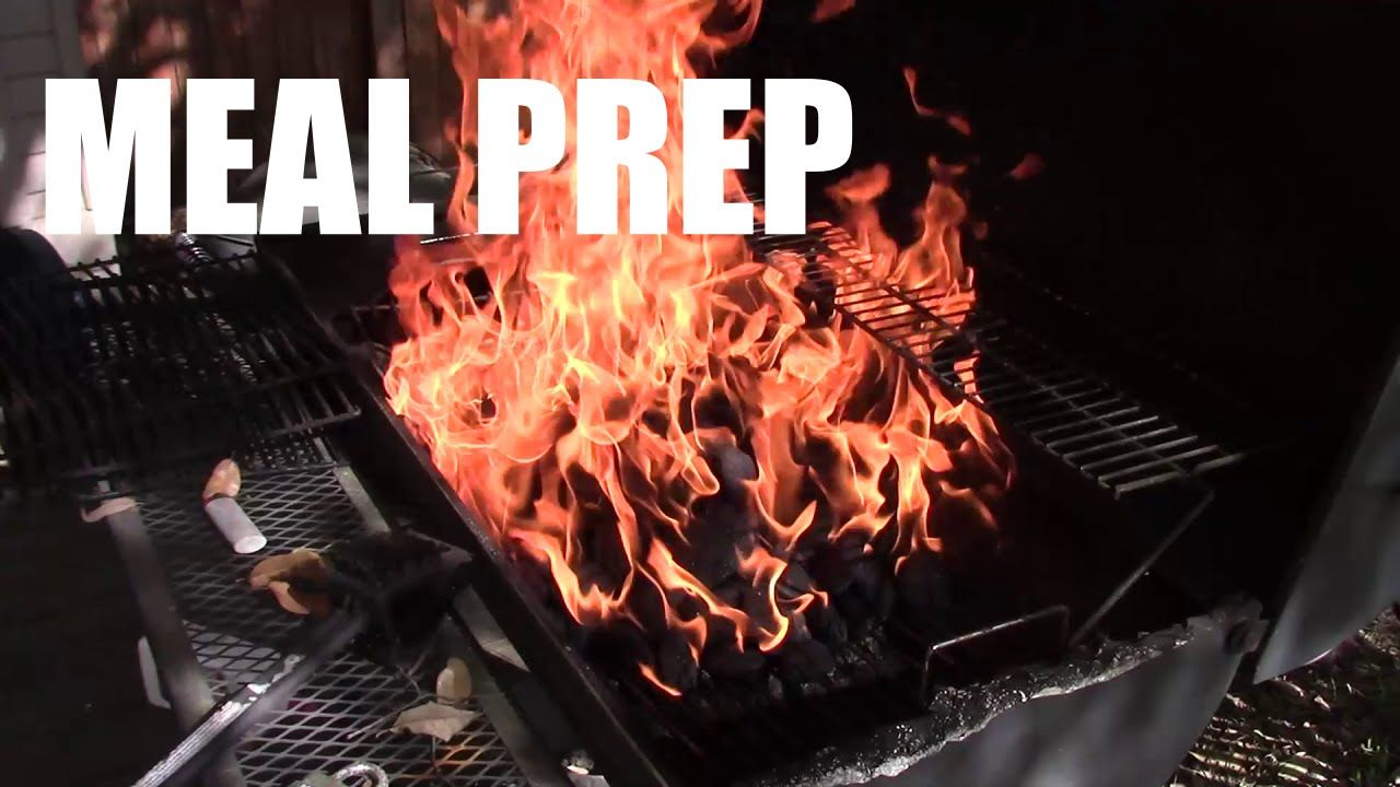 Meal Prep With Me: Grilling 24 Chicken Breasts |strong language|