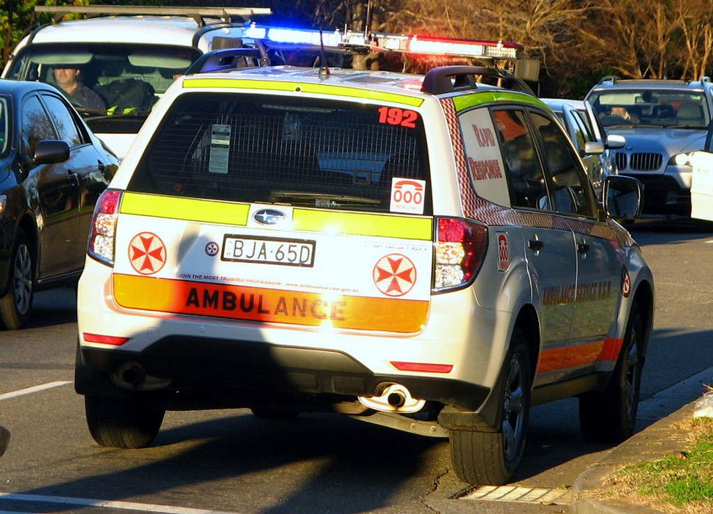 NSW Ambulance Rapid Response Subaru Forester Subaru