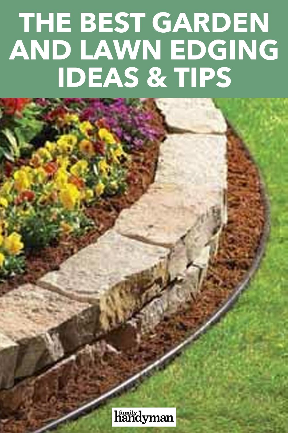 The Best Garden And Lawn Edging Ideas Tips Lawn Edging Metal Lawn Edging Amazing Gardens