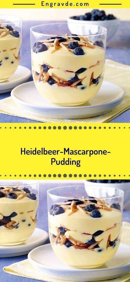 Zutaten  für das Rezept Heidelbeer-Mascarpone-Pudding    Zutaten:  1 Pck. Dr. Oetker Original Puddingpulver Vanille-Geschmack  50 g Zucker  500 ml Milch  125 g Mascarpone (ital. Frischkäse)  50 g Dr. Oetker gesplitterte Mandeln  300 g Heidelbeeren (Blaubeeren)    Stecken Sie das Bild unten in Ihre Pinterest-Tabellen, um es #kuchenkekse