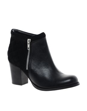 Black Leather Ankle Boots | FP Boots