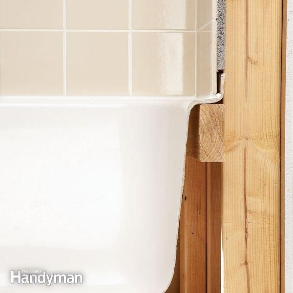 Tile Installation: Backer Board Around a Bathtub | Sit on top ...