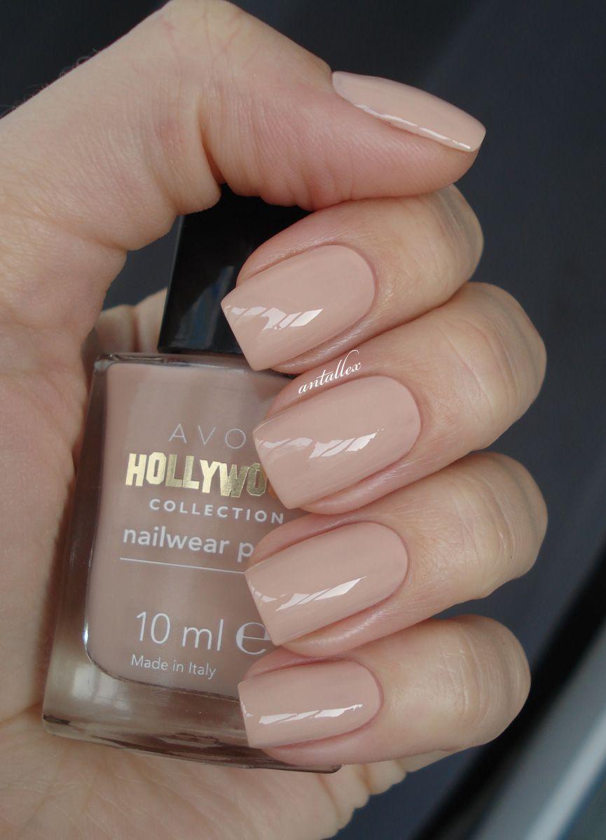 notes on nails avon hollywood collection nails nail polish avon pinterest
