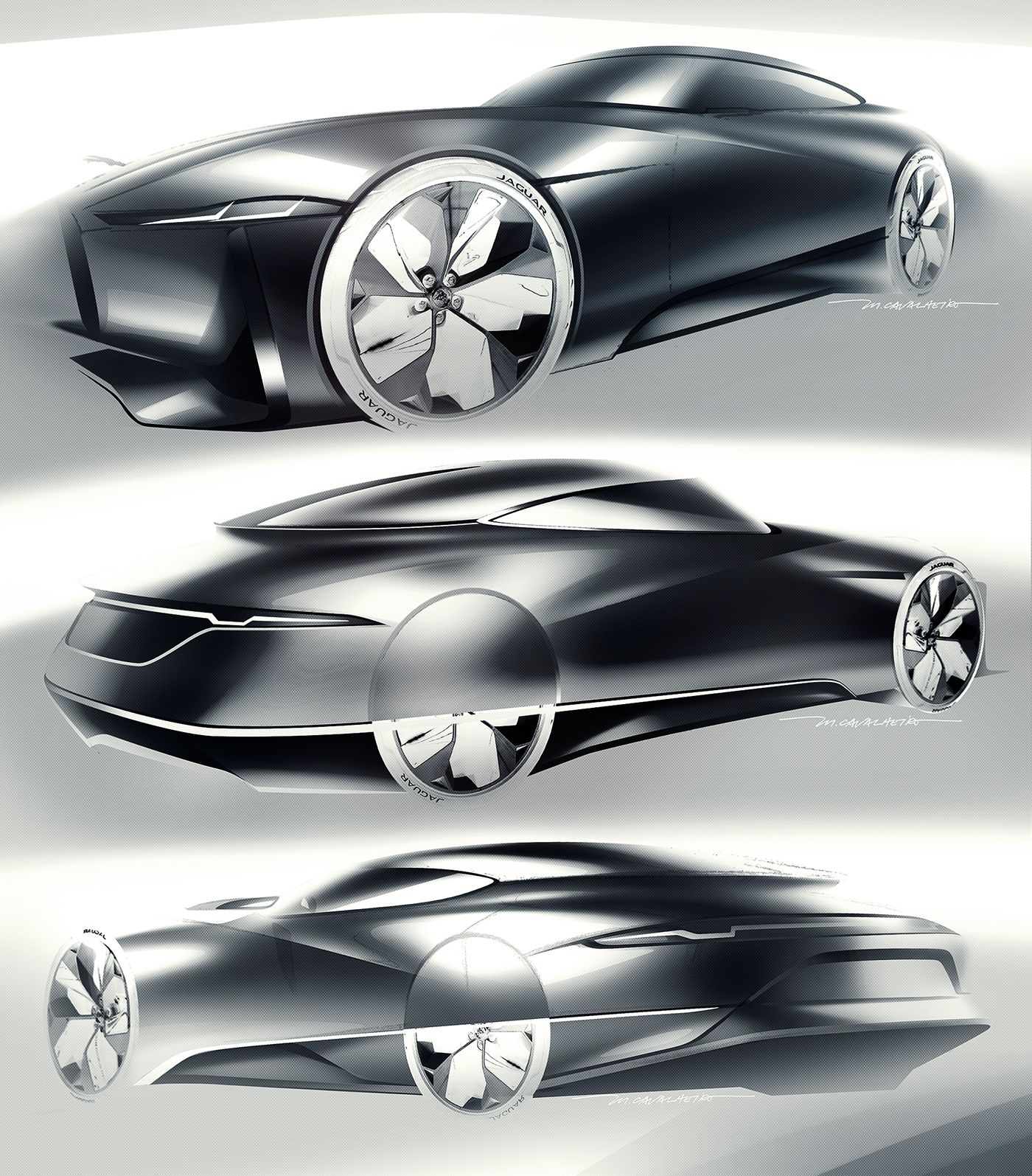 Jaguar E-Luxury Concept On Behance