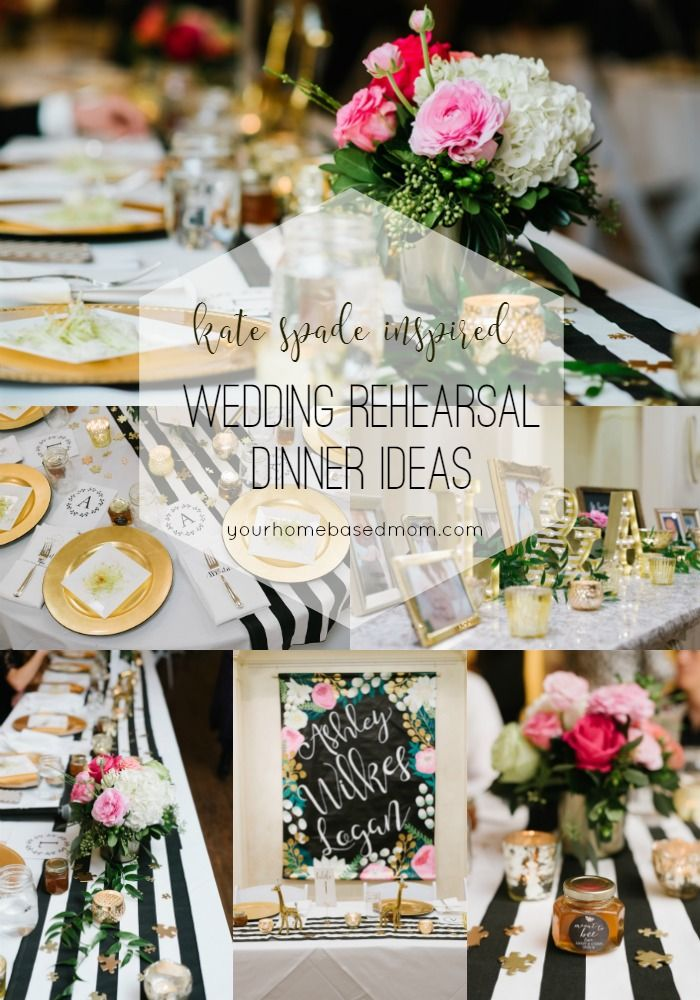 Sharing Our Kate Spade Inspired Wedding Rehearsal Dinner It Was A Beautiful Magical Evening To Celebrate The Marriage Of Son And His