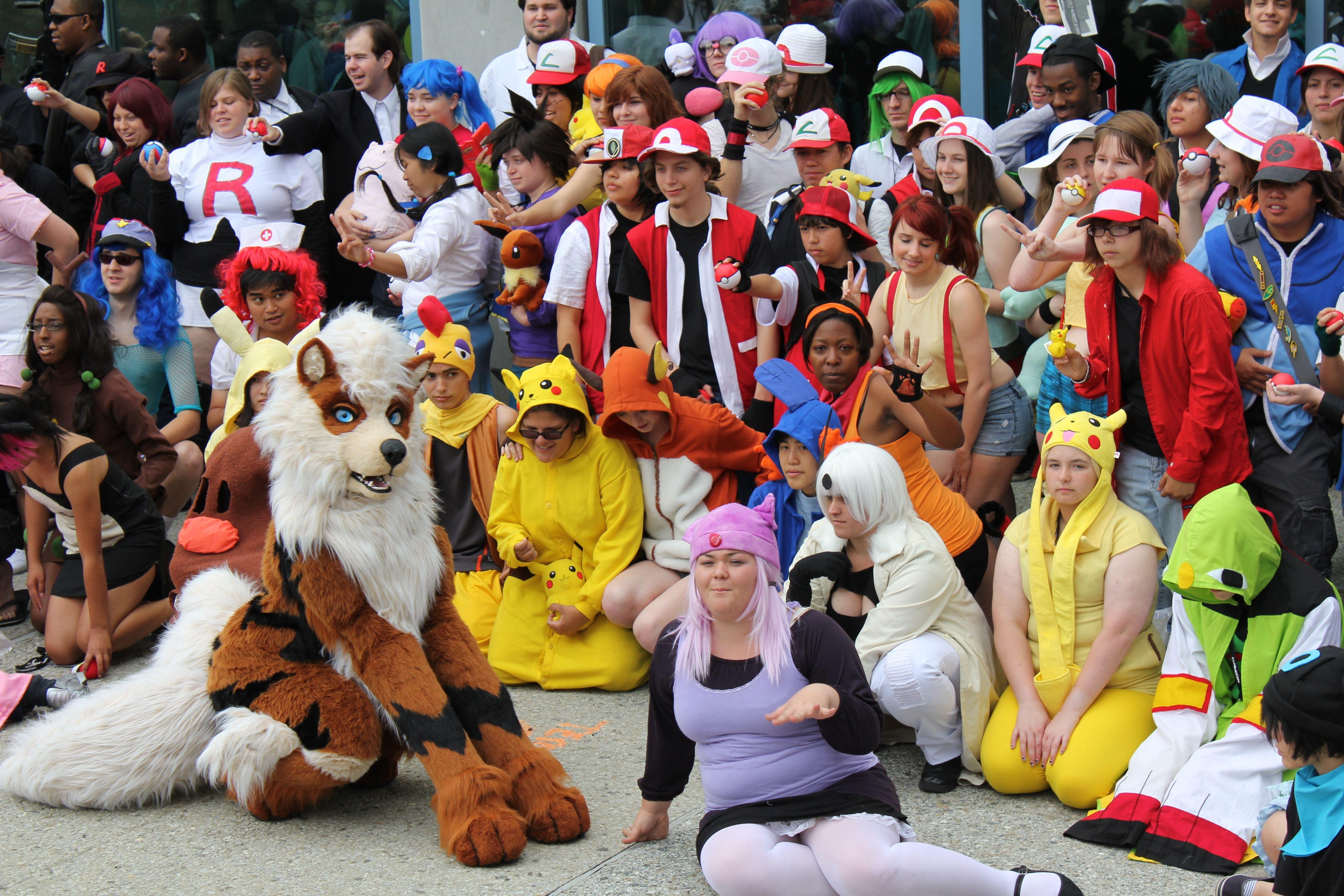 Pokemon Group Cosplay