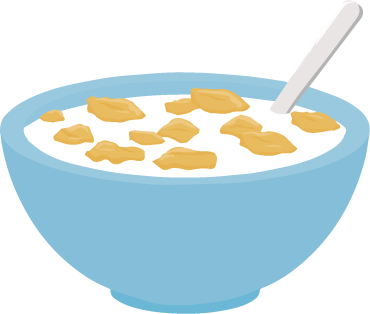 image result for bowl of cereal clipart clipart kitchen rh pinterest ca cereal clipart black and white cereal pictures clip art