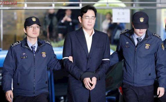 Chefe da Samsung vai a julgamento na próxima semana