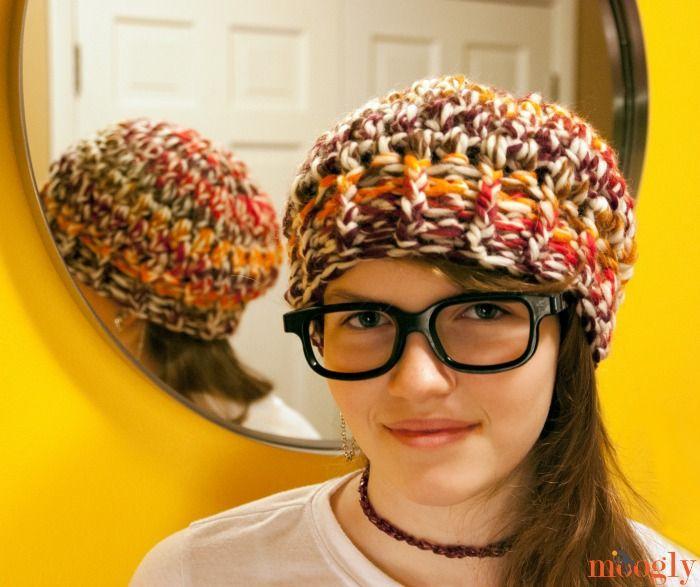 Buffi Crochet Beanie - patrón de sombrero #crochet gratis en 3 ...