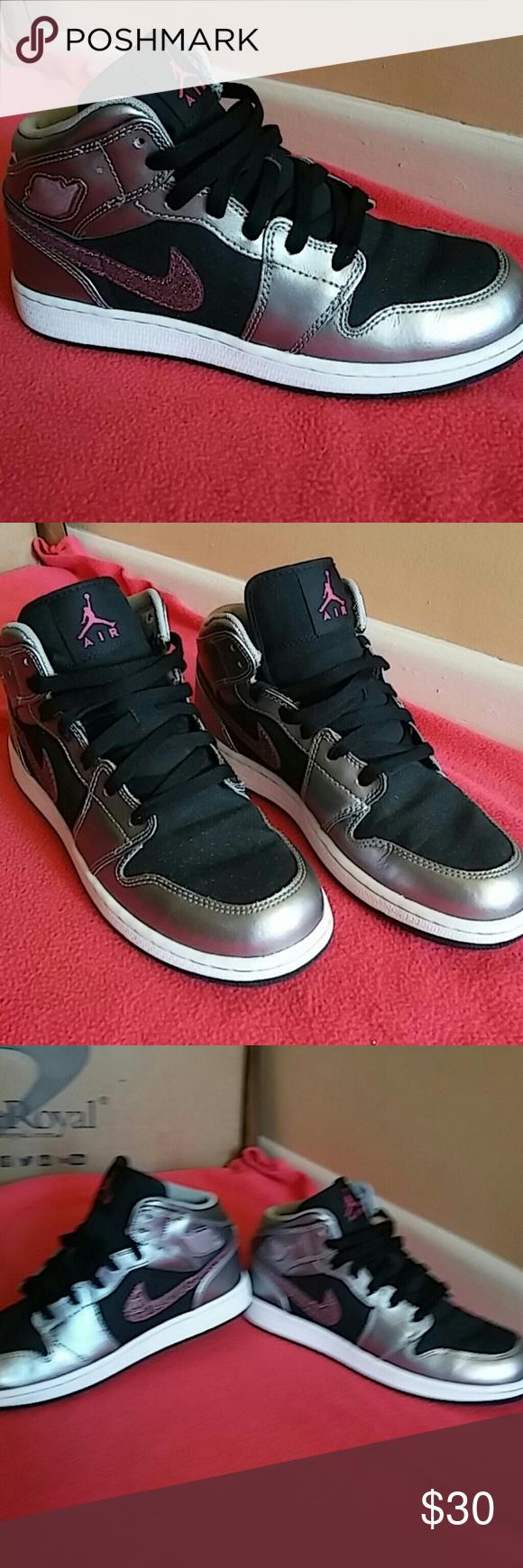 Nike Air Jordan 1 Phat Yellow/Black Size 10 Great Condition