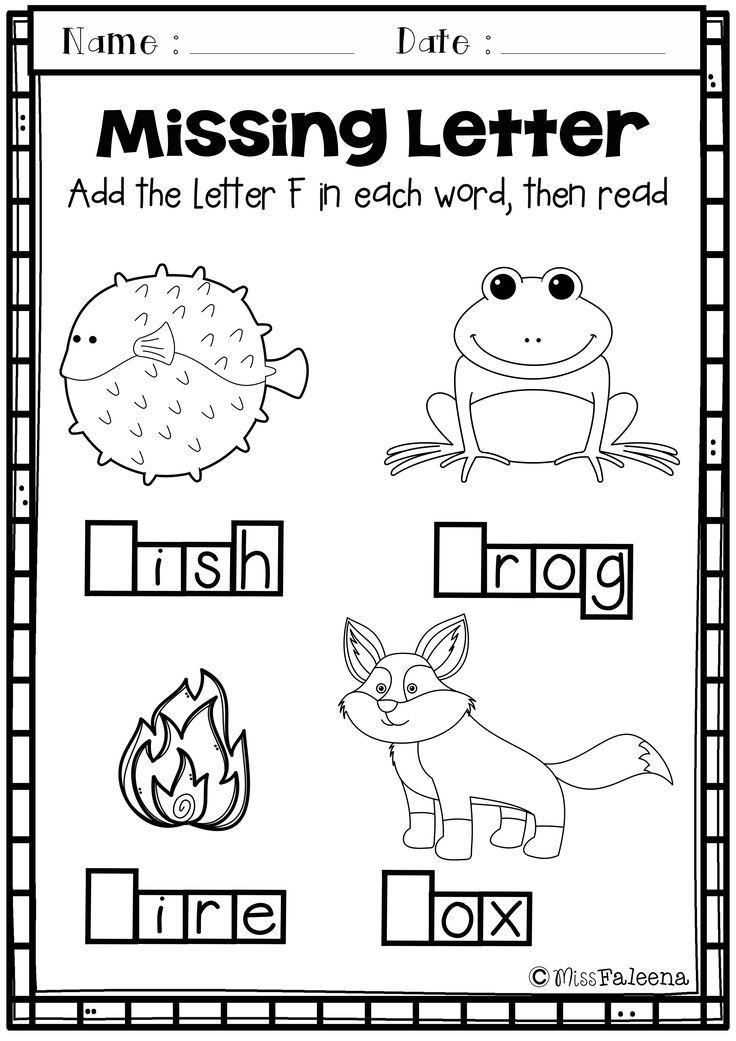 Alphabet Letter Of The Week F In 2018 All Preschool Tpt